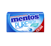 Mentos Sugar Free Gum - Pure Fresh -  Mint (29g tin x 12pc display unit)