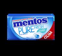 Mentos Sugar Free Gum - Pure Fresh -  Mint (29g tin x 12pc display unit)