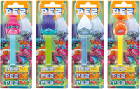 Pez Candy Dispensers - Trolls (6 x 17g)