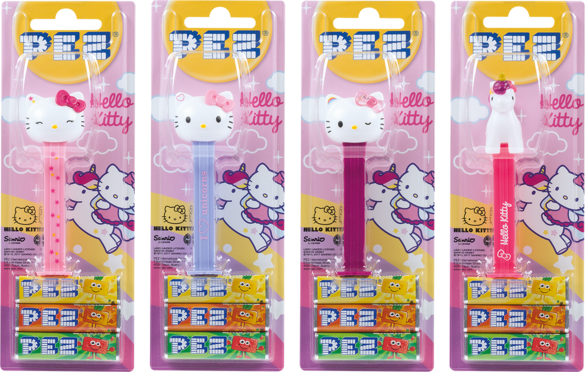 Pez Candy Dispensers - Hello Kitty unicorn, by Pez,  and more Confectionery at The Professors Online Lolly Shop. (Image Number :11085)