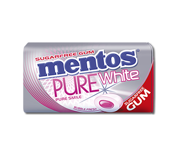 Mentos Sugar Free Gum - Pure Fresh -  Bubble Fresh, by Perfetti Van Melle,  and more Confectionery at The Professors Online Lolly Shop. (Image Number :11002)