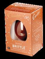 Chocolatier -  Peanut Brittle Milk Chocolate Egg (120g )