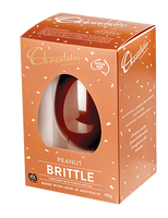 Chocolatier -  Peanut Brittle Milk Chocolate Egg and more Confectionery at The Professors Online Lolly Shop. (Image Number :14217)