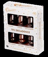 Chocolatier -Decadent Dark 6 Pack Egg Selection (150g)