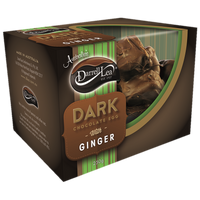 Darrell Lea Half Filled Dark Chocolate Ginger Egg (250g)