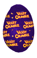 Violet Crumble Hollow Egg, by Robern Menz,  and more Confectionery at The Professors Online Lolly Shop. (Image Number :14472)