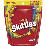 Skittles Fruit - BULK Pouches (12 x 380g bag)  - B/B 24/3/21
