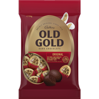Cadbury Old Gold eggs (114g bag ) - Approx 14 eggs per bag