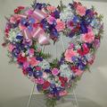 Spring Pastels Floral Heart