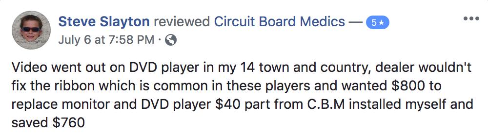 verified facebook customer testimonial