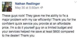 Ford Fusion PCM Repair Testimonial