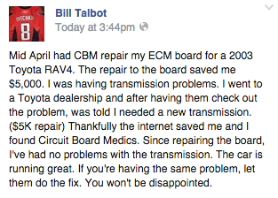 rav4 ecm repair customer review
