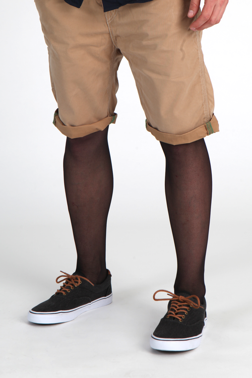 Street / fashion styling suggestion for wearing Adrian male tights / mantyhose / pantyhose for men.