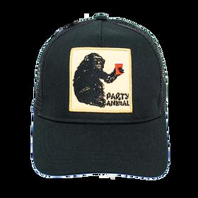 Peter Grimm - Ape Party Animal Trucker Cap Black