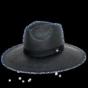 Peter Grimm - Alexa Wide Brim Straw Hat Black
