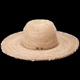 Peter Grimm - Beach Getaway 100% Raffia Hat Natural