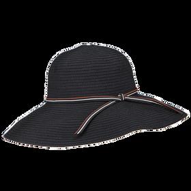 Peter Grimm - Janet Wide-Brim Floppy Poly Sun Hat - Black