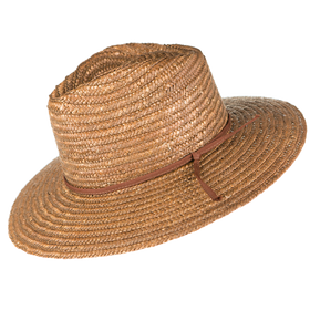 Peter Grimm - Bruner 100% Wheat Straw Resort Hat Brown