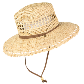 Peter Grimm - Oak 100% Raffia Straw Resort Hat