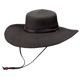 Peter Grimm - Coralia 100% Toyo Resort Hat Black