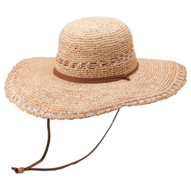 Peter Grimm - Carla 100% Raffia Straw Resort Hat