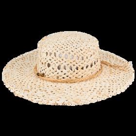 Peter Grimm - Namiko 100% Moroccan Straw Resort Hat Natural