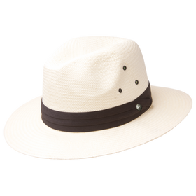 Peter Grimm - Official 100% Toyo Straw Wide Brim Fedora