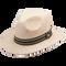 Peter Grimm - Kenya 100% Chinese Panama Straw Wide Brim Fedora