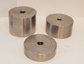 "STANDOFF BASE 1.5"" WIDE X 1/2"" HIGH IMPERIAL  3/8-16 HANGER BOLTS"