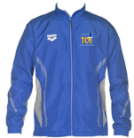 TCA Youth Warm Up Jacket with Team Logo and Athlete Name