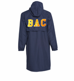 Male Team Parka with BAC Letters on back