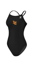 La Canada Female Team Suit with logo