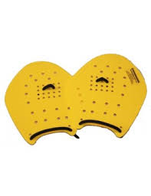 CSSC Strokemaker Hand Paddles (Size 2.0 Yellow)(15 and Over)