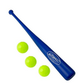 BLITZBALL Starter Pack - Includes (3) Blitz Balls & 1 Power Bat