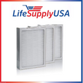 LifeSupplyUSA Complete Set of 3 Filters to fit All Blueair 500 & 600 Series Air Purifier