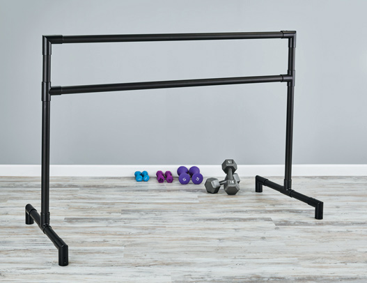 Custom Barres Aluminum Portable Ballet Barre - freestanding ballet bar