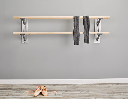 Custom Barres Cabriole Double Ballet Barre Brackets