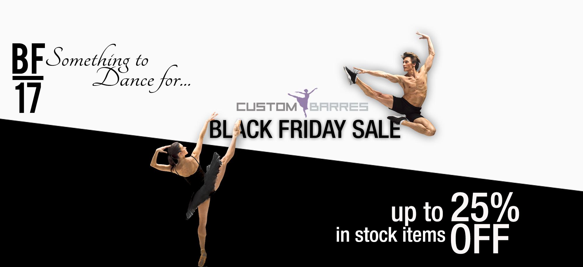 Black Friday Ballet Barre Sale