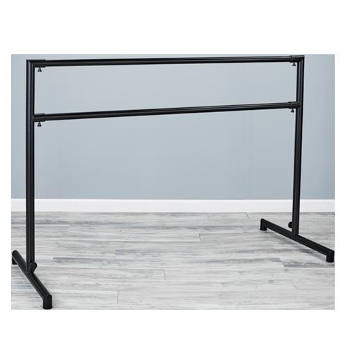 Custom Barres ARABESQUE STEEL Free standing Ballet Barre, Portable Ballet Barre