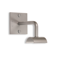 FUSION Single Wall Mounted Barre Bracket by Custom Barres - Silver - 2 Mounting Holes