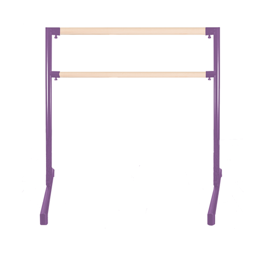 2nd Arabesque - Adjustable Ballet Barres - Adjustable Portable Ballet Barre - Purple Barre