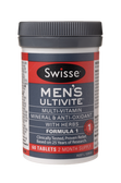 Swisse Vitamins Ultivite Capsules Formula 1 Multi Men 60 pack