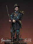 FeR Miniatures: Faherenheit Miniature Project - Corporal, 19th Indiana Volunteer Infantry Regiment, Iron Brigade, 1862