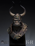 FeR Miniatures: Forged Monkey - Tribe Chief Morrow
