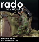 Rado Miniatures : Achtung Jabo!, Waffen SS  Panther Crew, 1944