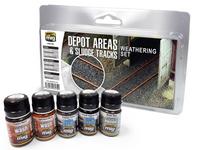 Ammo of MIG - Depot Areas - Sludge Paint Set