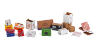 Matho Models - Cardboard Boxes Small Set 2, Assorted Variety