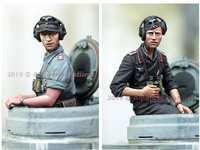Alpine Miniatures - German Panzer Commander Summer Set
