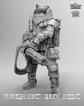 Nutsplanet: Trigger - Advance Guard Heavy Gunner (1/35th)