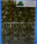 The Scenic Factory - Tuft Sheet - Olive/ Late Summer